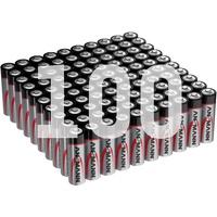 Ansmann ANS 1522-0043 - Alkaline Batterie, AA Mignon 100er-Pack