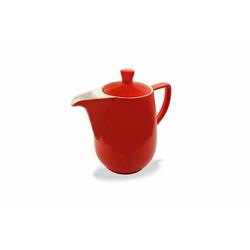 Friesland Porzellan Kaffeekanne Friesland Kaffeekanne 0,35l Rot Porzellan, 0,35 l