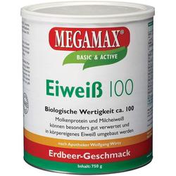 Megamax Eiweiß 100 Erdbeer 750 G Pulver