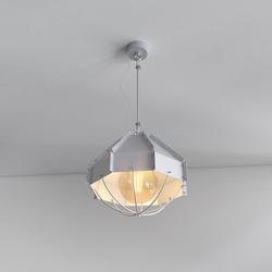 Retro Industrielampe RAFI ø 30 cm Silbern