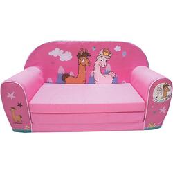 Kindersofa La-La-Lama Lounge, pink