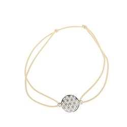 Adelia´s Armband Armband 925 Silber cremé, cremé