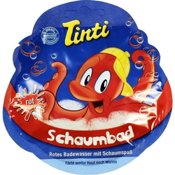 Tinti Schaumbad rot Sachet
