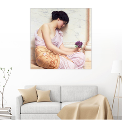 Posterlounge Wandbild, Veilchen, süße Veilchen 30 cm x 30 cm