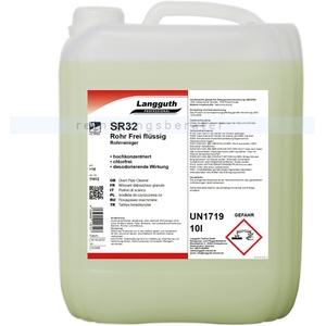 Langguth SR32 flüssig 10 L Rohrreiniger starker alkalischer Rohrreiniger