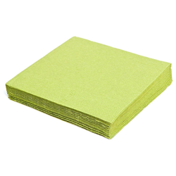 Servietten 33 x 33 cm 1/4 -Falz, 3-lagig hellgrün, 250 Stk.