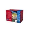 Konstsmide 3630-110 Micro-Lichterkette Außen netzbetrieben Anzahl Leuchtmittel 80 LED Lichterkette mit 8 Funktionen, Steuergerät und Memoryfunktion / warm weiße Dioden (IP44)