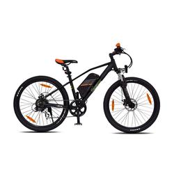 SachsenRAD E-Bike Sachsenrad R6 E-Racing Mountain Bike 26 Zoll, 7 Gang, Shimano Tourney TX 7-Gang-Schaltung, Jiabo Motor
