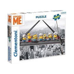 Clementoni® Puzzle Puzzle 1000 Teile - Minions, Puzzleteile