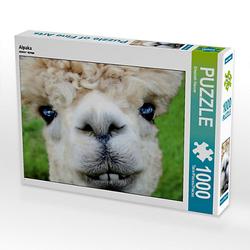 Alpaka Lege-Größe 64 x 48 cm Foto-Puzzle Bild von Elisabeth Stanzer Puzzle
