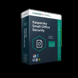 Kaspersky Small Office Security 6 (2019), 15 Urządzenia+ 15 Urządzeniamobilnych + 2 serwery - 1 Rok- pełna wersja