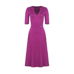 Lenitif Damen Abendkleid fuchsia, Größe L, 5054374