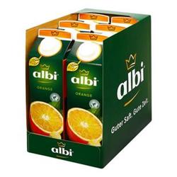 albi Orangensaft 1 Liter, 6er Pack