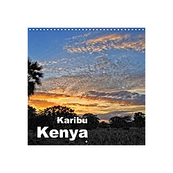 Karibu Kenya (Wall Calendar 2021 300 × 300 mm Square)