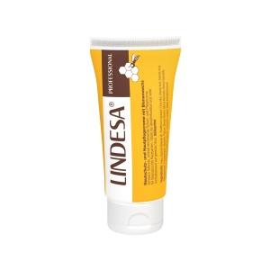 LINDESA® Hautschutz- und Pflegecreme, Schwach fettende, schnell einziehende Hautschutz- und Pflegecreme, 50 ml - Tube