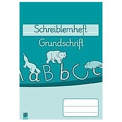 Schreiblernheft - Grundschrift - Buch