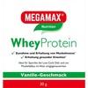 MEGAMAX Whey Vanille Pulver 30 g