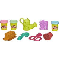 Hasbro Knete Play-Doh Bunter Garten Knetset mit 3 Farben