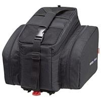 KLICKfix Rackpack 2 Plus inkl. Racktime Vario Adapter schwarz