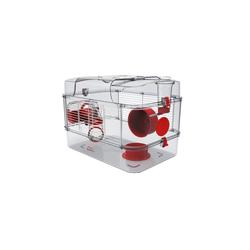 ZOLUX Rody 3 Solo Käfig für Hamster, Mäuse, Rennmäuse rot