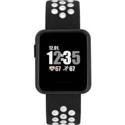 X-WATCH Keto Sun Reflect Smartwatch 40mm Schwarz