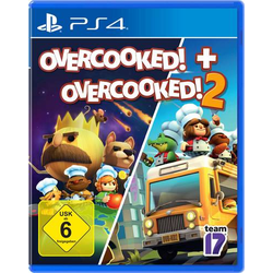 OVERCOOKED + OVERCOOKED! 2 Double Pack PS4 USK: 6