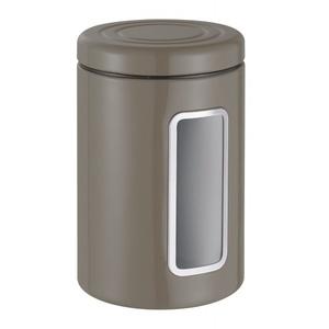 Vorratsdose Metall grau WESCO 321206-57 (LBH 12,5x12,5x18,9 cm) WESCO