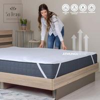 SEI Design Aqua-Stop Molton Matratzenauflage (140x200cm)