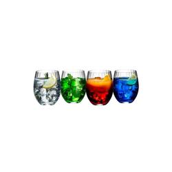 RIEDEL Glas Glas Mixing Tonic Cocktailbecher Set, Kristallglas