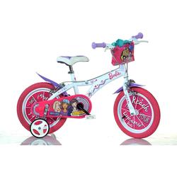Kinderfahrrad Dino bikes 14barbie Farbe Pink White 614g-ba