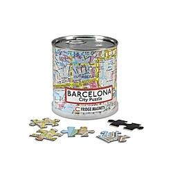 Barcelona City Puzzle Magnets 100 Teile  26 x 35 cm