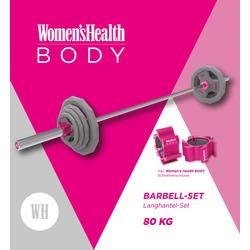 Womens Health Langhantelset Olympia 80 kg