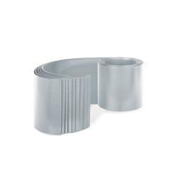 blumfeldt Markise Sichtschutzstreifen Zaunblenden PVC-Hartplastik 2,53 x 0,19 m