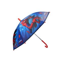 Spiderman Stockregenschirm Kinder Regenschirm Stockschirm, ∅ 72 cm, blau