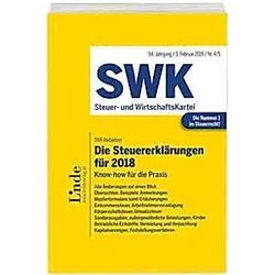 Die Steuererklärungen für 2018 (f. Östereich) - Buch