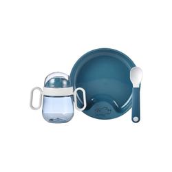 Mepal Kindergeschirr-Set Mio Babygeschirrset deep blue 3-teilig (3-tlg)