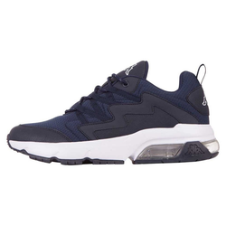 Kappa YAKA Sneaker mit durchsichtigem Luftkissen in der Sohle blau 36
