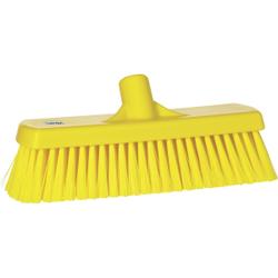Vikan Besen, 300 mm medium, speziell zum Kehren in feuchten Bereichen, Farbe: gelb
