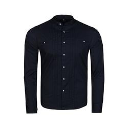 CARISMA Hemd CARISMA Hemd klassisch geschnittenes Baumwoll-Hemd für Herren Freizeit-Hemd Navy