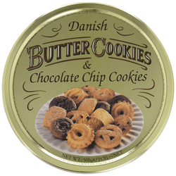 Danish Butter Cookies & Chocolate Chip Cookies