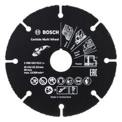 BOSCH Trennscheibe Trennscheibe Hartmetall Multi Wheel. 115 mm. 22.23