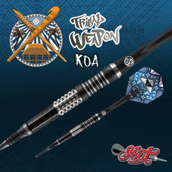 Shot! Tribal Weapon Koa Softdarts 18 g