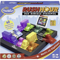 Thinkfun Rush Hour®-Das geniale Stauspiel 76301