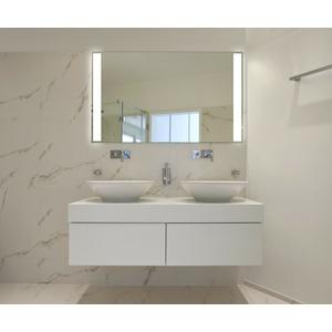 LED Badspiegel Badezimmerspiegel Wandspiegel Lichtspiegel n Maß Bad Spiegel M4-2