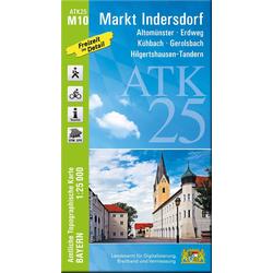 Markt Indersdorf 1 : 25 000