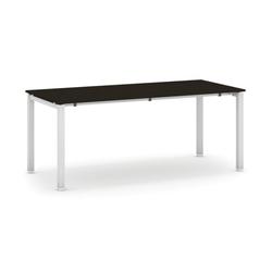 Tisch mit schwimmholzplatte, wenge 1800 x 800