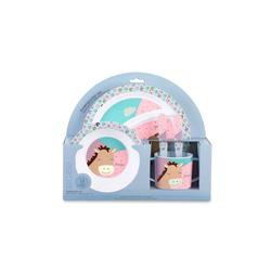 Sterntaler® Kindergeschirr-Set Kindergeschirr Set Pauline 5-teilig (5-tlg), Kunststoff