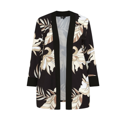 Kimono KIMONO MIT BLUMENMUSTER SPGWOMAN black