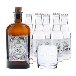 Monkey 47 Gin & Gents Swiss Roots Tonic Set