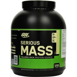 Optimum Nutrition Serious Mass Vanilla Pulver 2727 g